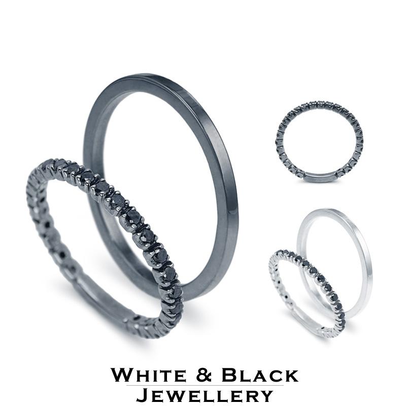 fekete karikagyűrű